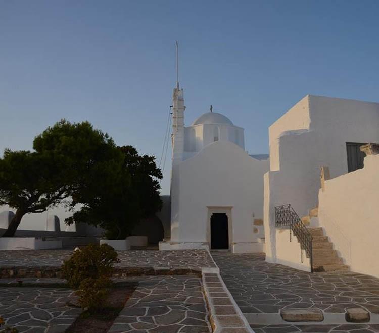 Agios Antonios monastery Paros Greece
