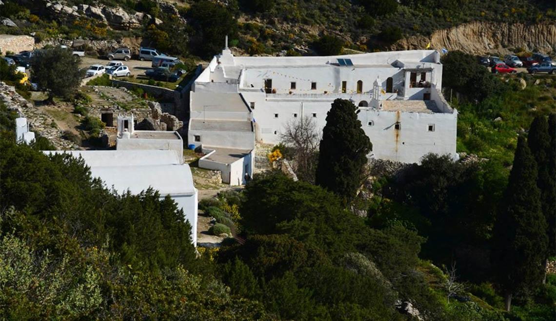 Agios Georgios monastery Paros Greece