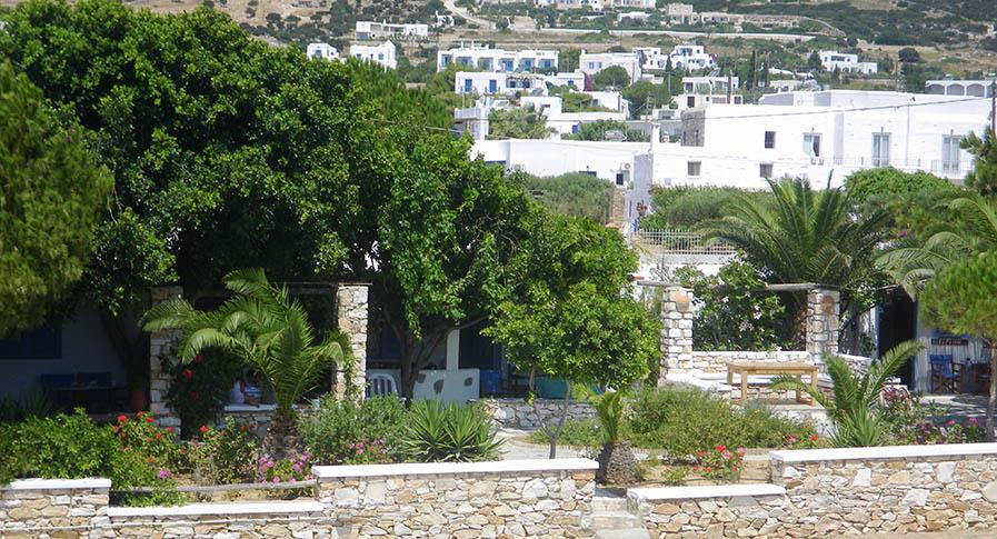 Garden of Apartment in Drios Paros