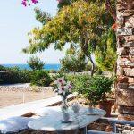 Balcony of rooms in Drios Paros