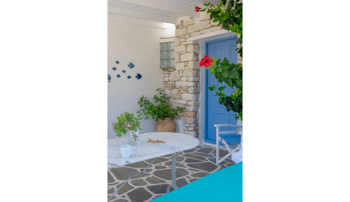 Appartement Drios Paros - balcon