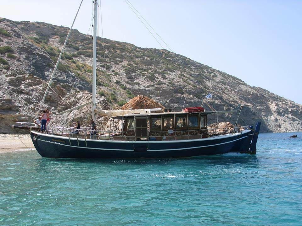 boat trips paros