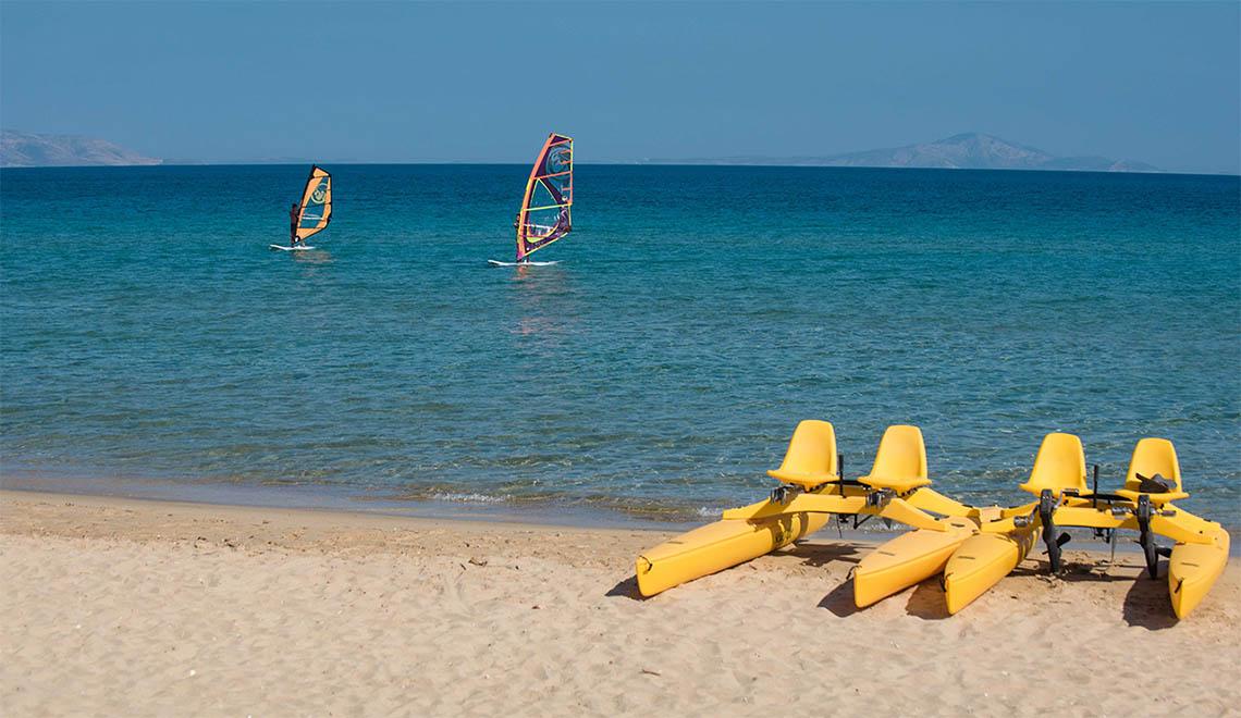 Golden Beach beach Paros Greece
