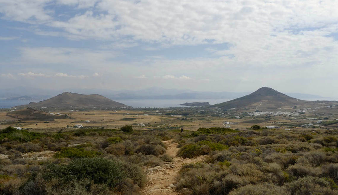 Hiking on Paros Greece